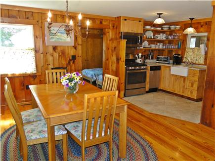 East Orleans Cape Cod vacation rental - Dining area seats 6