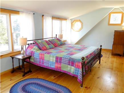 East Orleans Cape Cod vacation rental - Large sunny new Master bedroom with water views