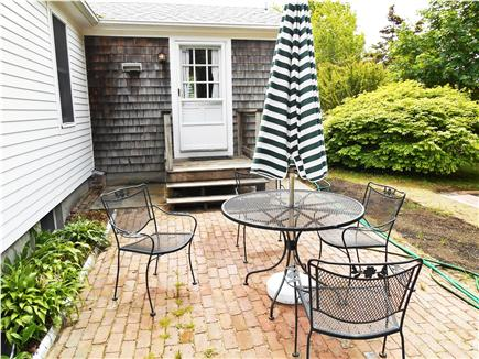 South Dennis Cape Cod vacation rental - Patio for dining and relaxing