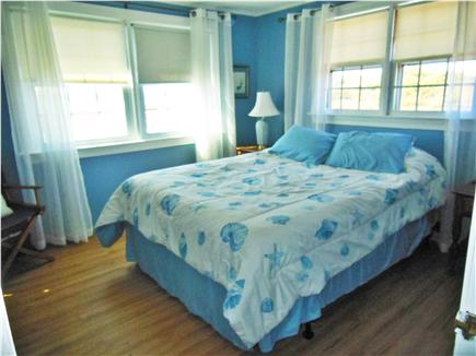North Truro Cape Cod vacation rental - Master bedroom with attached half bath