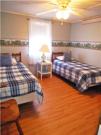 North Truro Cape Cod vacation rental - 2nd Bedroom with 2 twin beds