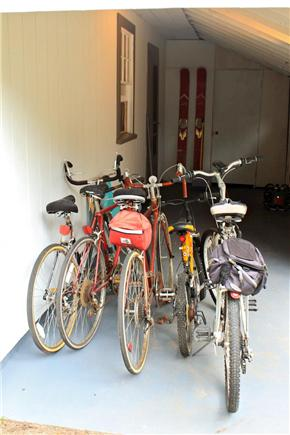 South Yarmouth Cape Cod vacation rental - Outdoor covered porch - Bicycles for use