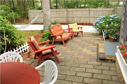 South Yarmouth Cape Cod vacation rental - Front patio