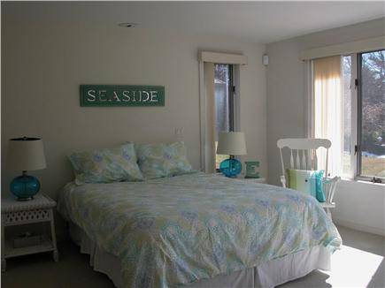 East Orleans Cape Cod vacation rental - Queen Bedroom with views of water on lower level