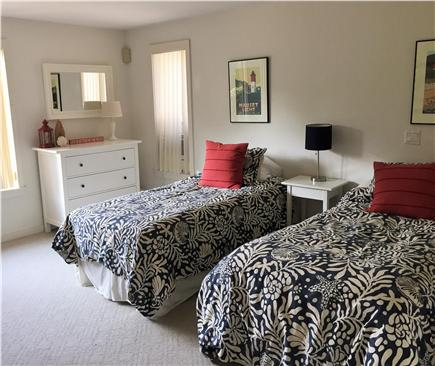 East Orleans Cape Cod vacation rental - Twin Bedroom with views of water on lower level