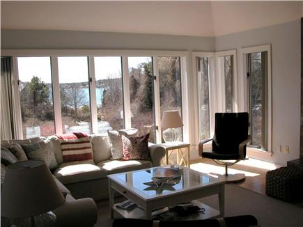 East Orleans Cape Cod vacation rental - Living Room with lovely water views