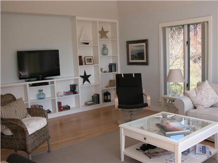 East Orleans Cape Cod vacation rental - Living Room with Flat Screen TV