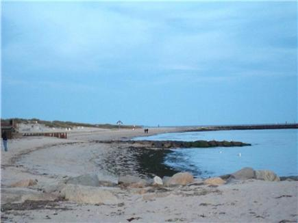 Dennis Port Cape Cod vacation rental - Inman Beach a short walk from cottage.