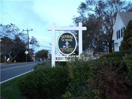 Dennis Port Cape Cod vacation rental - A classic Cape Cod ice cream shop steps away from Quaint Cottage.