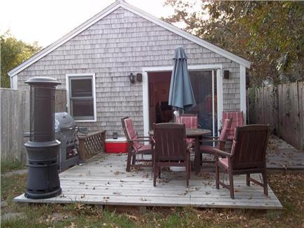 Dennis Port Cape Cod vacation rental - Back patio from different angle.