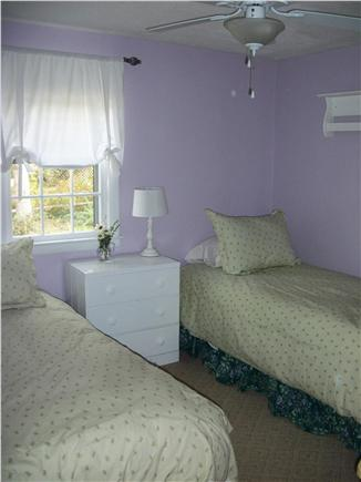 Long Pond, Harwich Cape Cod vacation rental - Charming room for two with a large closet, ceiling fan and AC.