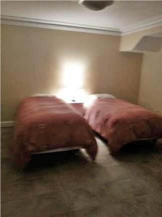 Yarmouth Port Cape Cod vacation rental - Basement Bedroom with two double beds