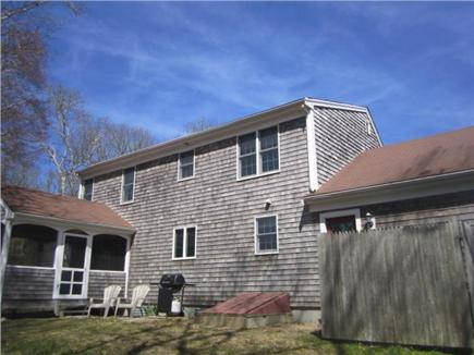 Harwich Cape Cod vacation rental - Back of House has Outdoor Shower