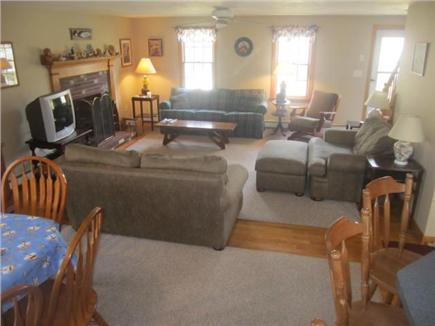 Harwich Cape Cod vacation rental - Looking from Dining Rom to Living Room