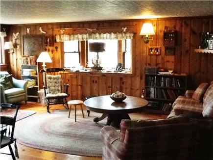 No. Eastham Cape Cod vacation rental - Open Living Room, Stereo, TV, Cable and Wifi