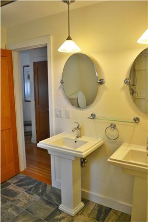 Falmouth Cape Cod vacation rental - Master suite: bath with step-in shower