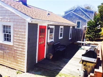 Chatham Cape Cod vacation rental - Deck in back with outdoor shower.