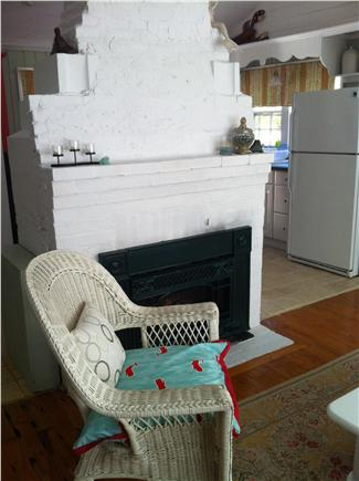 Chatham Cape Cod vacation rental - Get that warm and fuzzy feeling: gas fireplace!