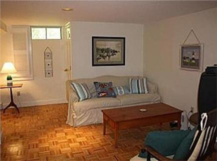 Brewster Cape Cod vacation rental - Downstairs family area w/ tv and dvd