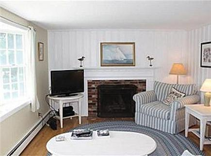 Brewster Cape Cod vacation rental - Another view of main living room w/ TV