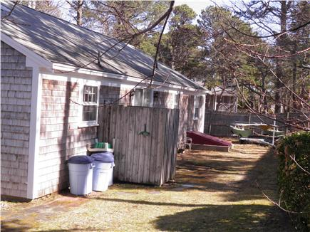 West Dennis Cape Cod vacation rental - Outdoor shower