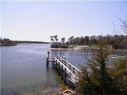 West Dennis Cape Cod vacation rental - Bass River Boat Ramp and loading dock