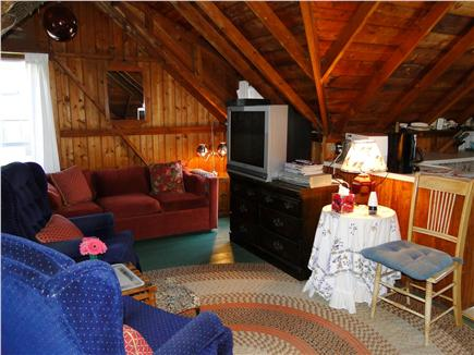Falmouth  Cape Cod vacation rental - Living area with TV