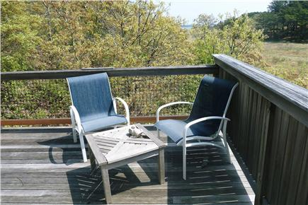 Wellfleet Cape Cod vacation rental - Rear bedroom deck