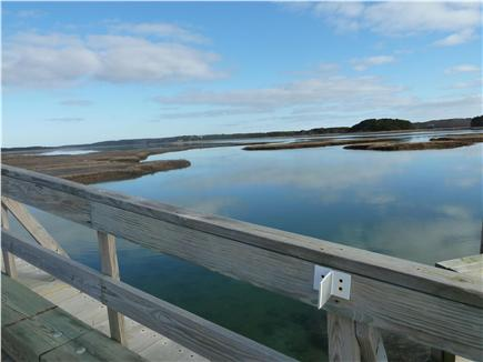 Wellfleet Cape Cod vacation rental - Bridge to the island