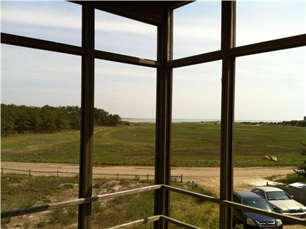 Wellfleet Cape Cod vacation rental - Screened porch overlooking marsh/beach