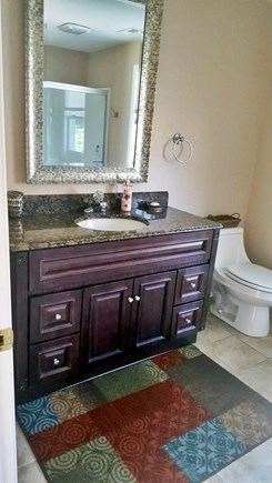 West Yarmouth Cape Cod vacation rental - Main Bath with Tub /shower