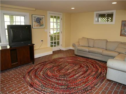 Cotuit Cotuit vacation rental - Family room with walk-out