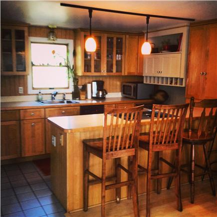 Eastham Cape Cod vacation rental - Kitchen with all the amenities and breakfast bar