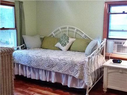 South Dennis Cape Cod vacation rental - Bdrm #3 leaf green room with daybed/trundle (2 twins)  HDTV