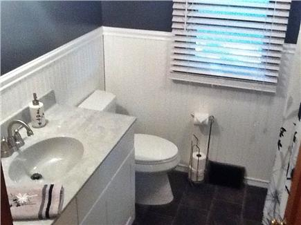 South Dennis Cape Cod vacation rental - Newly renovated 4 piece bathroom with over sized vanity