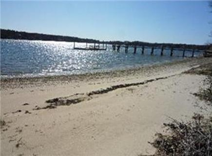 South Dennis Cape Cod vacation rental - 200 steps to deeded, private beach on Follins Pond