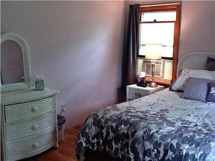 South Dennis Cape Cod vacation rental - Crystal plum master bedroom  with queen bed & flatscreen HDTV/DVD