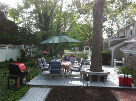 Yarmouth, Bass River Cape Cod vacation rental - Dine out on the patio