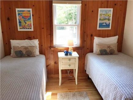 Mashpee Cape Cod vacation rental - Bedroom 1 with 2 twin beds.