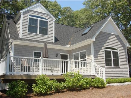 South Dennis Cape Cod vacation rental - Front View of House