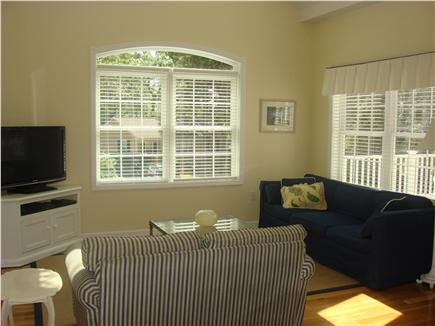 South Dennis Cape Cod vacation rental - Sun-filled Great Room with Couch & Loveseat