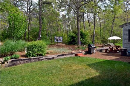 Brewster Cape Cod vacation rental - Relax in the hammock and listen to the birds