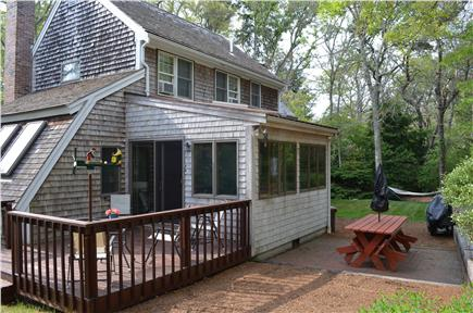 Brewster Cape Cod vacation rental - Cookout and relax in private back yard