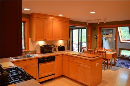 Brewster Cape Cod vacation rental - Fully equipped kitchen, gas range top, convection oven