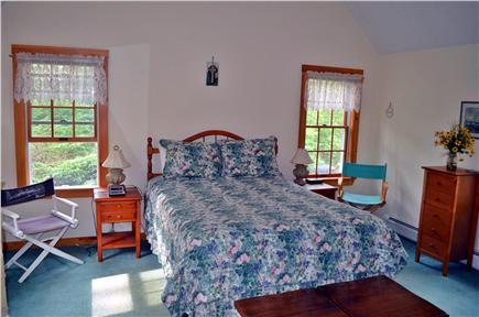 Brewster Cape Cod vacation rental - Master bedroom 1st Floor w/ ceiling fan