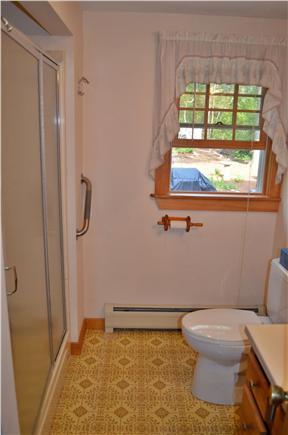 Brewster Cape Cod vacation rental - 1st floor bath with walk in shower