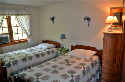 Brewster Cape Cod vacation rental - Cozy twin bedroom with AC