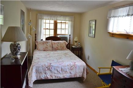 Brewster Cape Cod vacation rental - Comfortable queen bedroom with AC