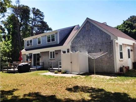 Harwich Cape Cod vacation rental - Back deck, outside shower and yard