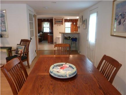 West Harwich Cape Cod vacation rental - Dining Room Table/Seats Six